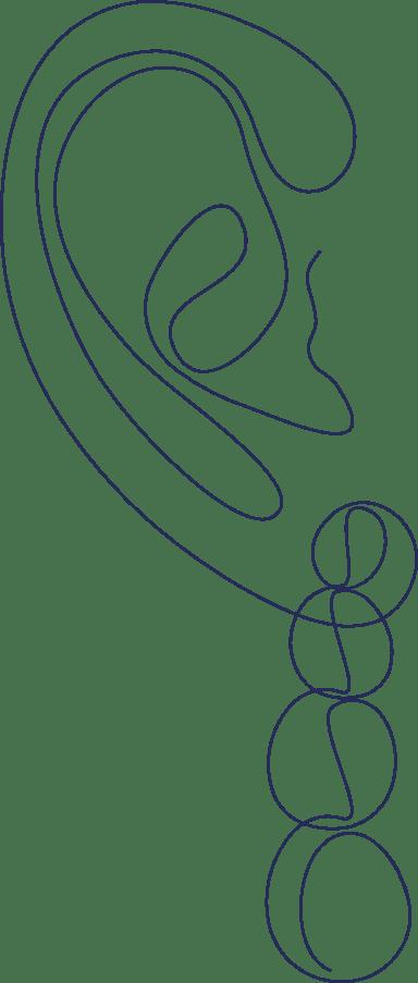 Monoline Earring