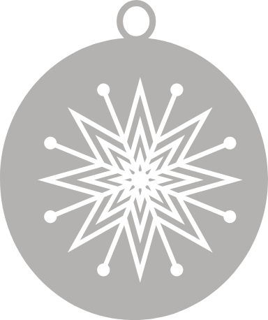 Nordic Star Ornament