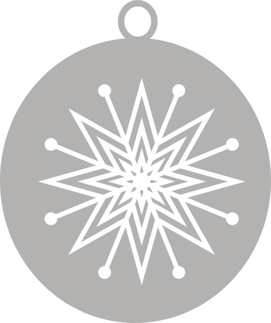 Nordic Star Ornament