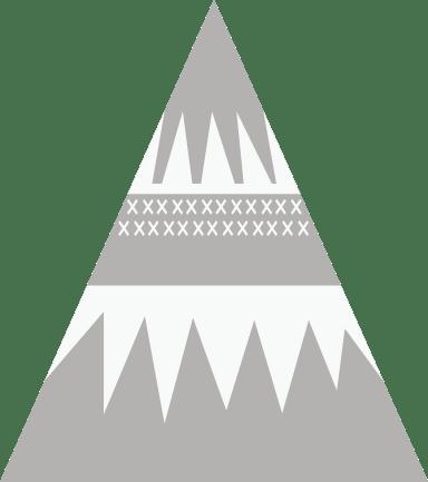 Nordic Snowy Tree