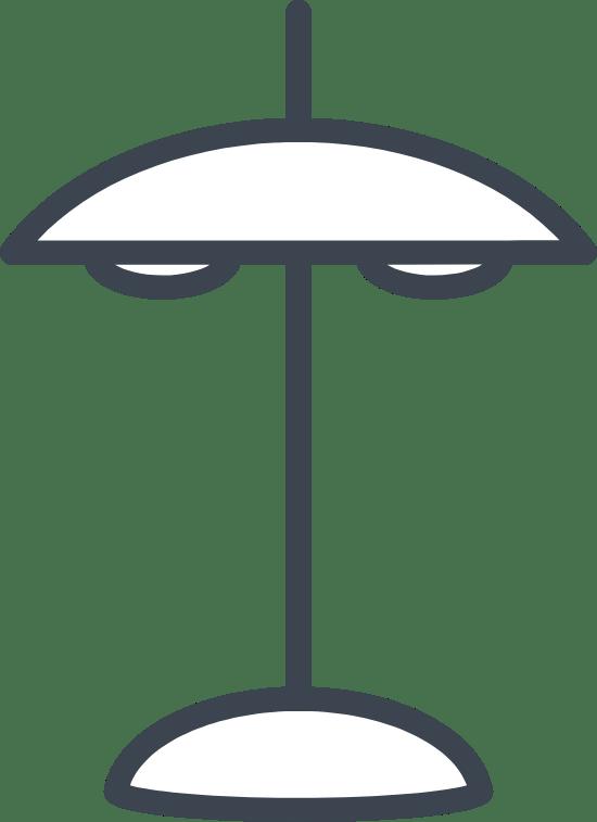 Blank Desk Lamp