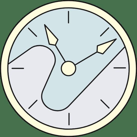 Wall Clock 11 Past 11