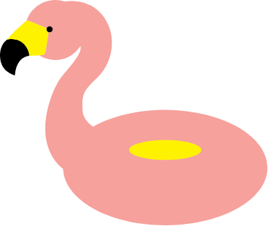 Flamingo Floaty