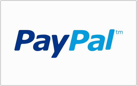 PayPal Payment Card