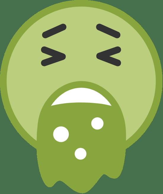 Green Vomit Face