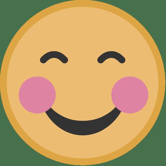 Yellow Blushing Face