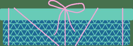 Flat Lidded Gift