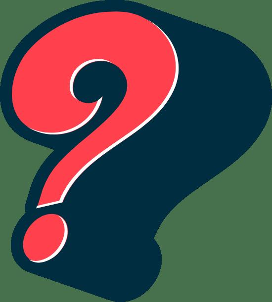 Shadowy Question Mark