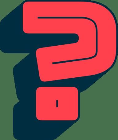 Blocky Question Mark