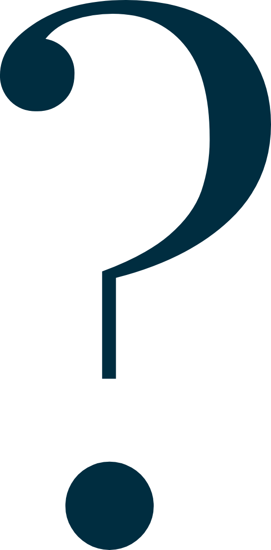 Formal Question Mark