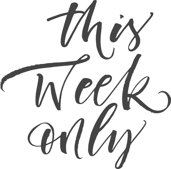 This Week Only
