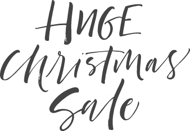 Huge Christmas Sale