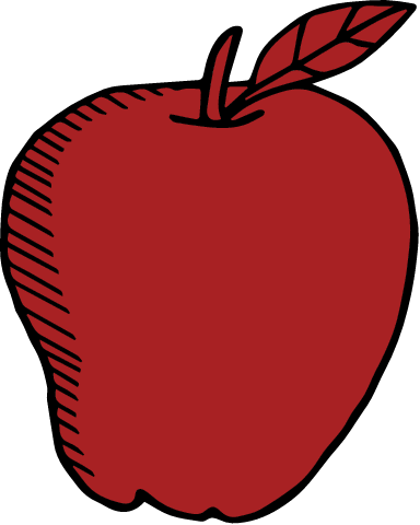 Drawn Apple