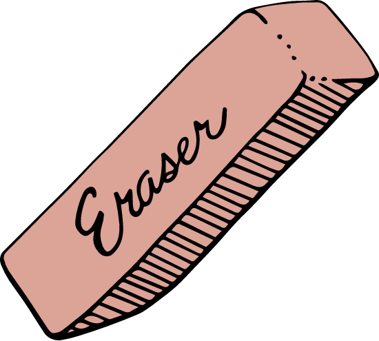 Drawn Eraser