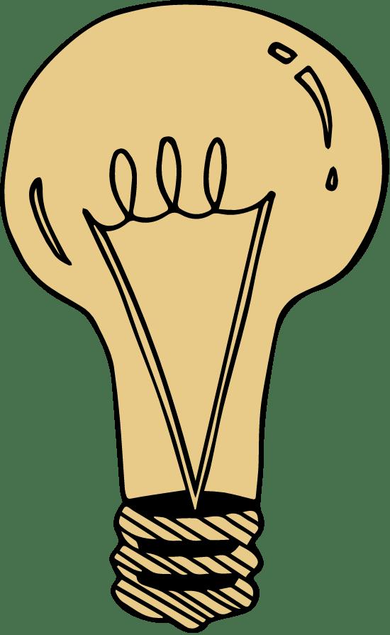 Drawn Lightbulb