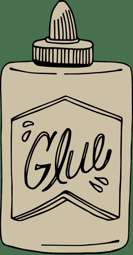 Drawn School Glue