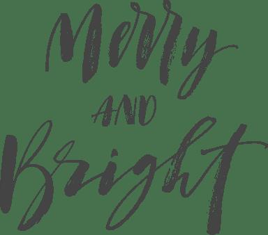 Merry & Bright Script