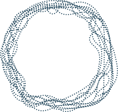 Fibrous Sketchy Circle