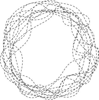 Wiggly Sketchy Circle
