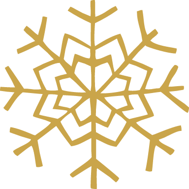 V-Shaped Snowflake