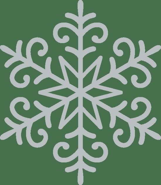 Swirly Snowflake