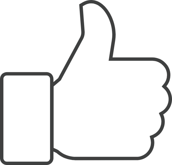 Thumbs Up Outline