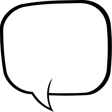 Square Speech Bubble