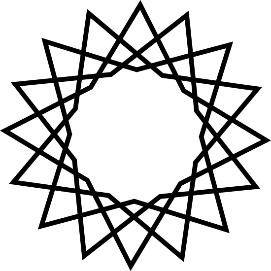 Spiked Spirograph