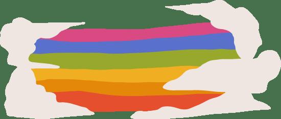 Horizontal Rainbow