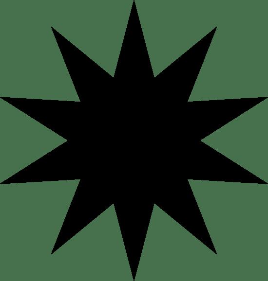 Ten-Pointed Burst