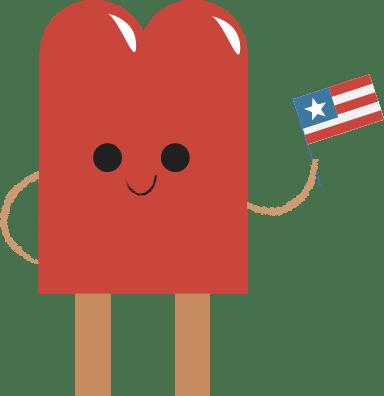 Patriotic Popsicle