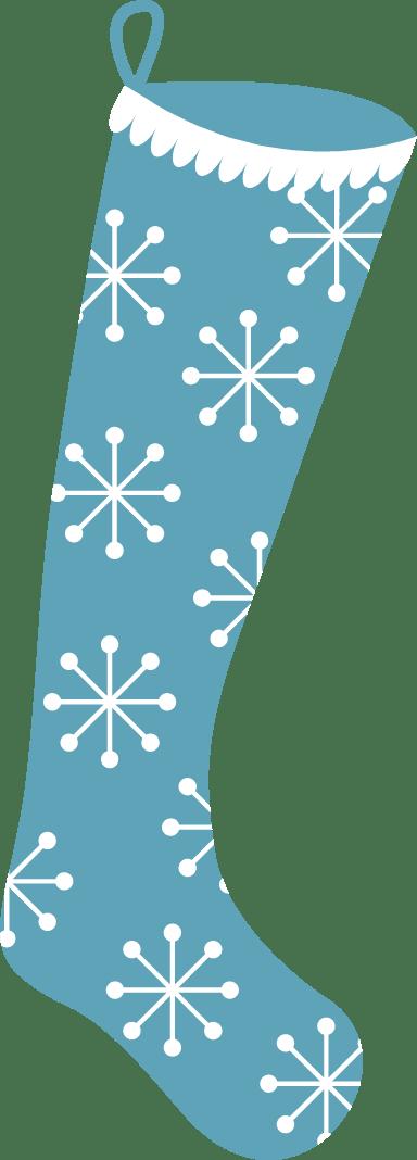 Snowflake Stocking