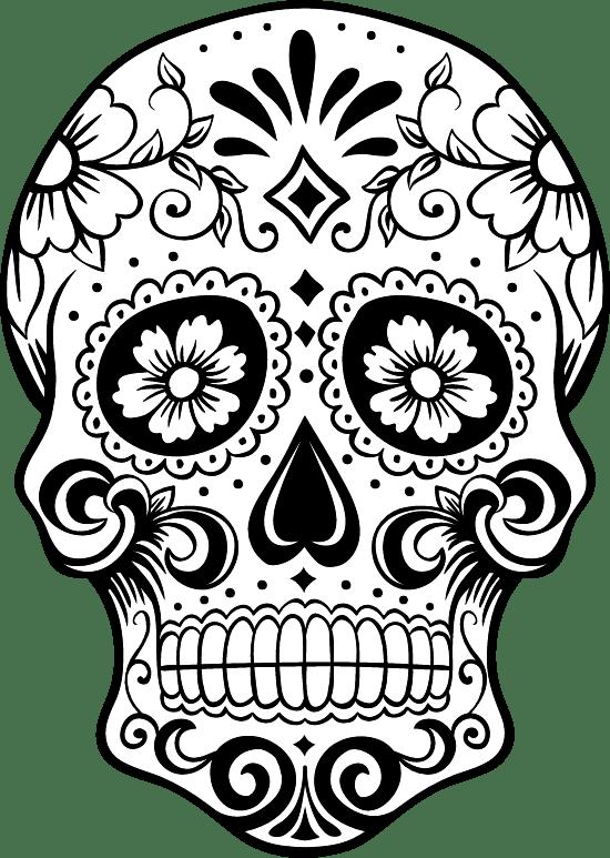 Crown Sugar Skull