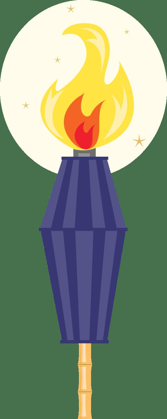 Tropical Tiki Torch