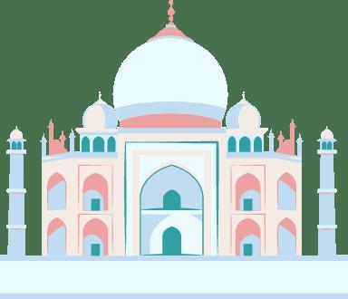 Taj Mahal Monument