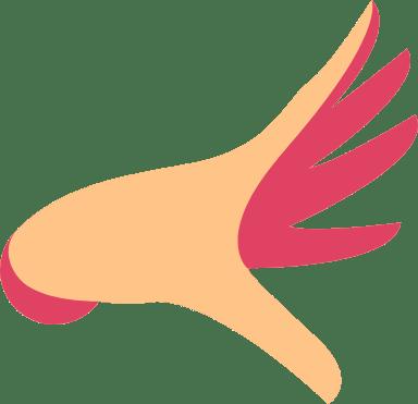 Gesticulating Hand