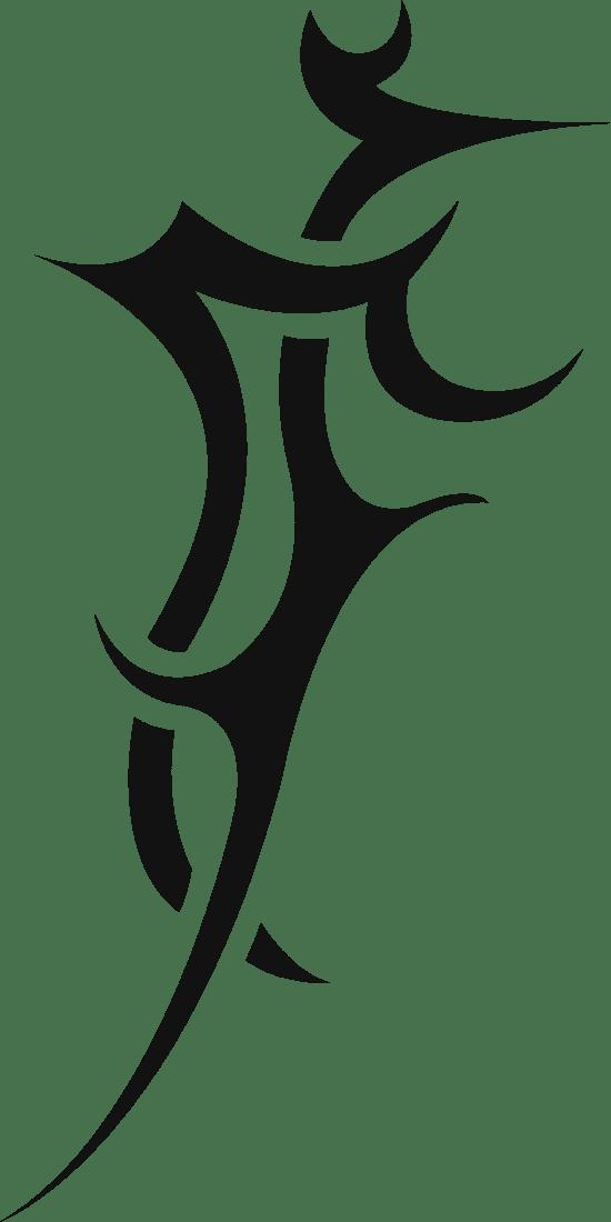 Spiky Tribal Tattoo