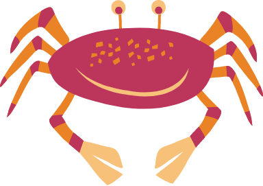 Cheerful Crab