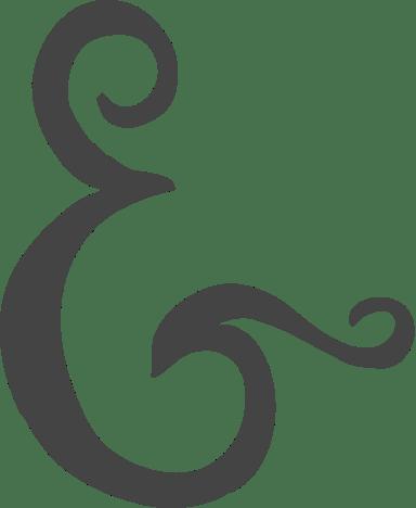 Wedding Ampersand