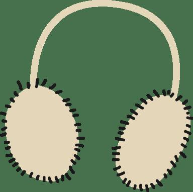 Fuzzy Ear Muffs