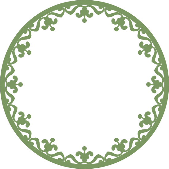 Twelve-Pointed Wreath