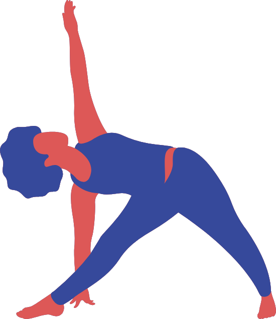 Triangle Pose Left