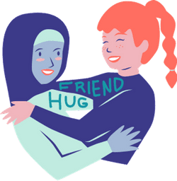 Friend Hug