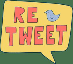 Retweet Speech Bubble