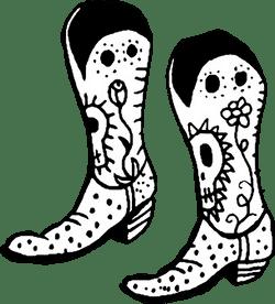 Festive Cowboy Boots