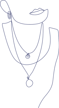 Monoline Necklaces