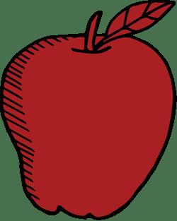 Drawn Apple