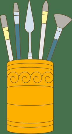 Paintbrush Jar