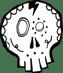 Screwball Skull