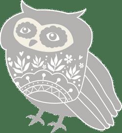 Nordic Gray Owl
